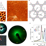 Synthesis of mesoscale ordered two-dimensional π-conjugated polymers with semiconducting properties