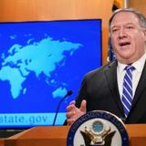 Pompeo's congratulations to Taiwan will have consequences, says China