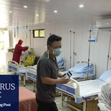 Philippine police raid illegal hospital for Chinese Covid-19 patients