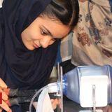 Afghan girls make ventilators out of car parts