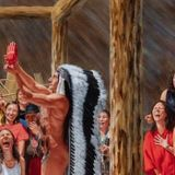 Artist Kent Monkman's painting of partially nude Trudeau with laughing women creates uproar online | CBC News