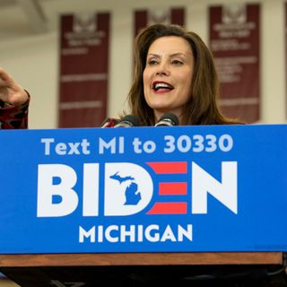 Michigan Gov. Gretchen Whitmer in talks to become Joe Biden's VP pick