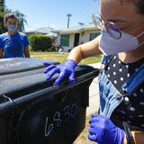 Doorknobs, trash cans, gas pumps: Citizen scientists search for coronavirus on everyday surfaces