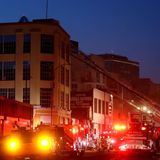 11 firefighters hurt in downtown L.A. explosion that caused fires at several buildings