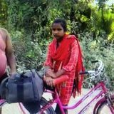 Bihar Girl Cycles 1,200 Km Home With Injured Father As Pillion