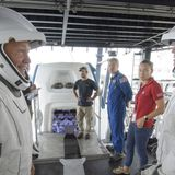 NASA, SpaceX prep for first astronaut launch by a private company