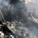 Pakistan International Airlines flight crashes, killing nearly 100