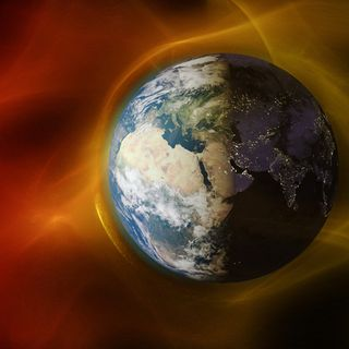 """Part of Earth's magnetic field is getting weaker in """"vigorously"""" developing anomaly, scientists say"""