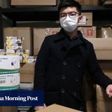Demosisto member arrested in Hong Kong over sale of 'Not made in China' masks
