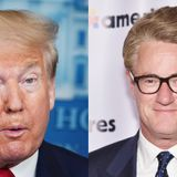 Trump tweets baseless conspiracy theory accusing MSNBC host Joe Scarborough of murder