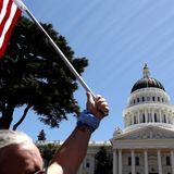 Role of extremist groups at California lockdown protests raises alarms