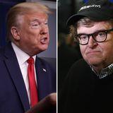 Trump tweets Michael Moore story bashing Biden's lack of 'enthusiasm'