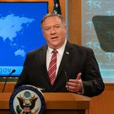 Pompeo Delivers Powerful Statement Against CCP on Virus and Their New Move to Kill Hong Kong's Independence