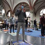 Berlin church hosts Muslim prayer in 'amazing sign of solidarity'