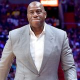 Magic Johnson says LeBron James is probably best 'all-around' player ever, but Michael Jordan is the GOAT