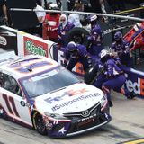 Three key crew members for Denny Hamlin suspended 4 races over tungsten drop before Coca-Cola 600