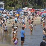 Thousands of Americans ignore social distancing, flock to beaches and parks on Memorial Day weekend - Mazech Media
