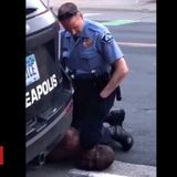 Black man dies after US officer kneels on neck
