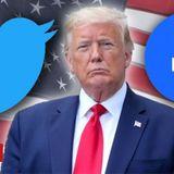 Trump threatens to shut down social media firms