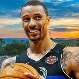 George Hill is spending the NBA hiatus on his 850-acre ranch with zebras, kangaroos and wildebeest