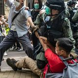 Hundreds arrested in Hong Kong as tensions boil over