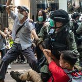 HK police arrest hundreds amid fresh unrest