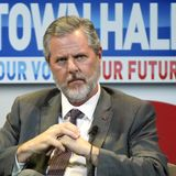 Jerry Falwell Jr. will only wear face mask he designed featuring Virginia Governor Northam's blackface photo