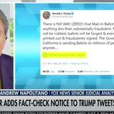 Fox News' Andrew Napolitano Backs Twitter's Right To Fact-Check Trump