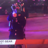 Louisville police shoot reporter, cameraman with pepper balls in middle of live broadcast