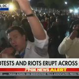 'F*** Fox News!'; Far-Left Mob Chases, Harasses Fox News Crew Off the Air