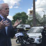 Mayor Tom Barrett announces 9 p.m. curfew in Milwaukee after overnight violence