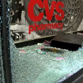 Business owners clean up destruction vandals caused during Louisville protests