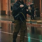Private security guard disarms man who took rifle from police vehicle at Seattle protest