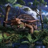 Armored dinosaur's last meal preserved in stunning detail