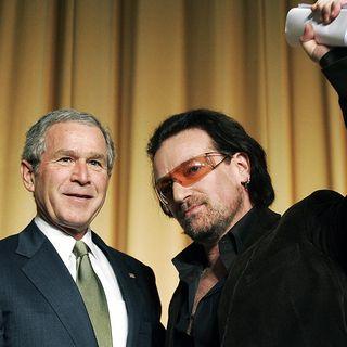Bono: 'I've Grown Very Fond' of George W. Bush