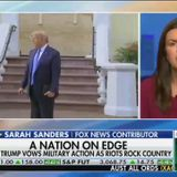 Fox News continues praising Trump's photo-op outside church, ignoring that he tear-gassed peaceful protesters for it