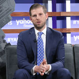 """Eric Trump complains that """"every family in politics enriches themselves,"""" saying """"it is sickening"""""""