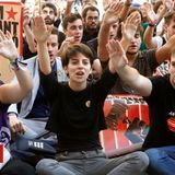 Separatist protest draws 350,000 in Barcelona