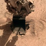 NASA InSight lander finally pushes its burrowing 'mole' heat probe into Mars