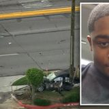 Promising HS football star Tristan Sanders killed in Hwy 6 crash that ripped BMW in half