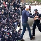 What the Protests Look Like on Twitter Versus Cable News