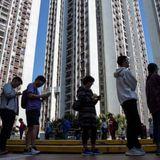 Hong Kong voters deliver landslide victory for pro-democracy campaigners