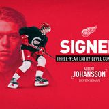 Red Wings sign Albert Johansson to entry-level deal