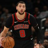 Zach LaVine Says LeBron James Is His Dream Teammate in 'First Take' Interview