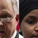 Jeff Sessions, Ilhan Omar Spar on Twitter -- 'How's Your Brother, By the Way?'