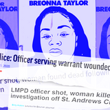 """Early media coverage of Breonna Taylor's killing branded her a """"suspect"""" and sanitized police violence"""