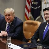 GOP leaders of the past decline to say whether they'll vote for Trump