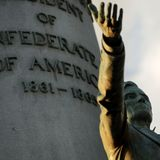 Statue of Confederate President Jefferson Davis torn down in Virginia