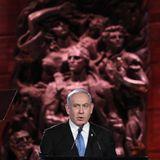 Netanyahu condemns 'tyrants of Tehran' in Holocaust speech