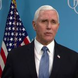 Pence tweets, then deletes, photo of Trump campaign staff not wearing face masks or social distancing
